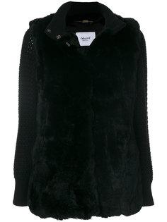 куртка с трикотажными рукавами Blugirl