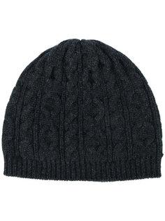 шапка вязки с косичками Pringle Of Scotland