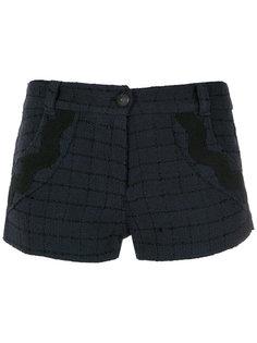 checked shorts Andrea Bogosian