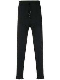 спортивные брюки с заниженной проймой Damir Doma