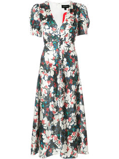 Lea V-neck midi dress Saloni