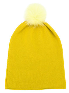 шапка с помпоном Danielapi
