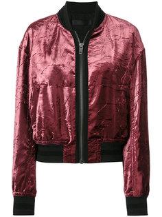 бархатная куртка-бомбер  Haider Ackermann