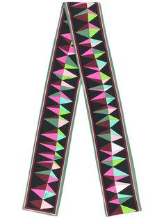 двусторонний шарф с принтом Emilio Pucci
