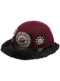 декорированная шапка Christian Pellizzari