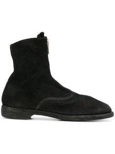 классические узкие ботинки Guidi