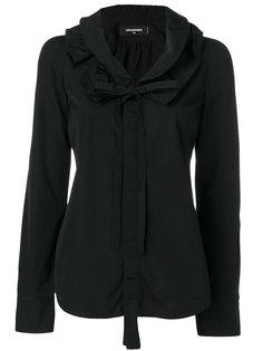 блузка с оборками Dsquared2