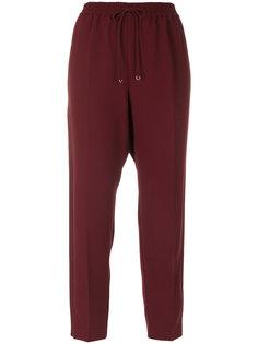 плиссированные брюки T By Alexander Wang