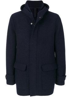 пальто с капюшоном Harris Wharf London