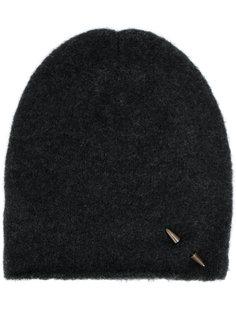 шапка с заклепкой-шипом Isabel Benenato