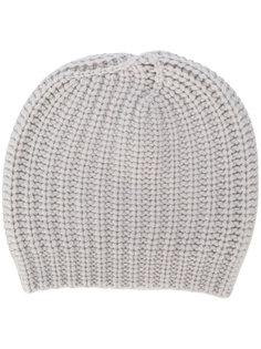 шапка объемной вязки Danielapi