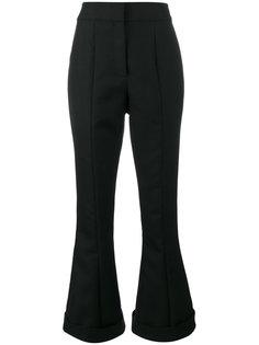 расклешенные брюки с завышенной талией с заворотами Jacquemus