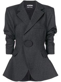 пиджак с рукавами три четверти Jacquemus
