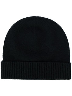 шапка с подолом в рубчик Pringle Of Scotland