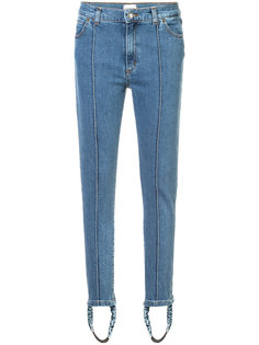 skinny jeans with foot straps Magda Butrym