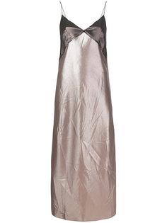 платье с контрастной отделкой  Walk Of Shame