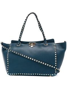 трапецевидная сумка-тоут Valentino Garavani Rockstud Valentino