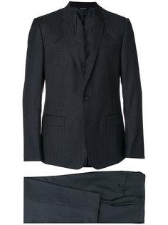 костюм в тонкую полоску Dolce & Gabbana