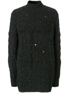 меланжевый свитер  Damir Doma