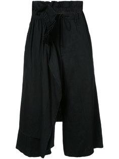 драпированные брюки Yohji Yamamoto