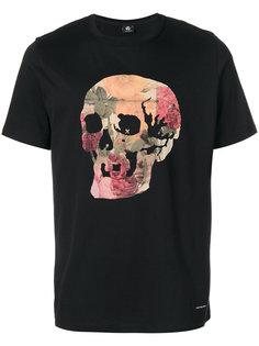 футболка с цветочным принтом черепа Ps By Paul Smith