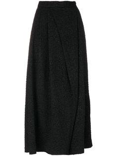 расклешенные брюки с эффектом помятости Antonio Marras