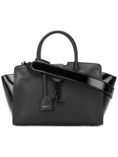 маленькая сумка-тоут Monogram Cabas Saint Laurent