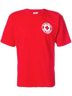 футболка с круглым вырезом с принтом Gcds
