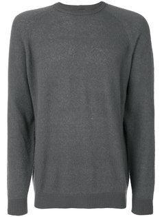 трикотажный пуловер с круглым вырезом Giorgio Armani