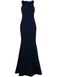 Carla tie back gown Rebecca Vallance
