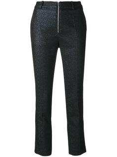 укороченные брюки на молнии  Iro