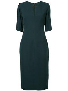 приталенное платье миди  GINGER & SMART