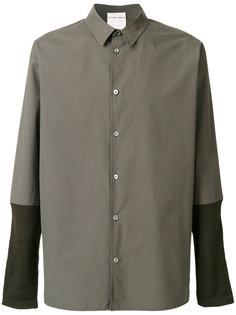 рубашка с контрастными рукавами Stephan Schneider