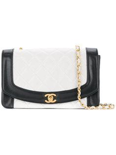 bi-colour Diana chain bag Chanel Vintage