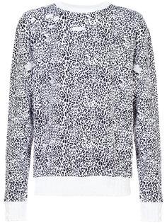 leopard sweatshirt Amiri