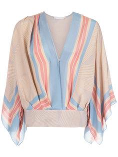 silk blouse Giuliana Romanno