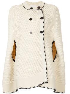 двубортное пальто-кейп  Sonia Rykiel