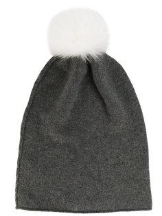 вязаная шапка с помпоном Danielapi