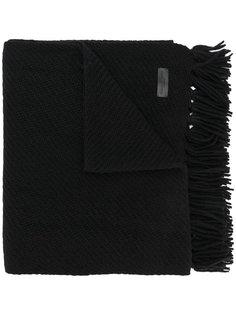 шарф с бахромой Saint Laurent