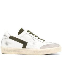 кроссовки на шнуровке Leather Crown