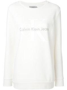 толстовка с логотипом  Calvin Klein