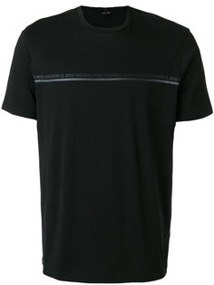 футболка с принтом с логотипом Emporio Armani