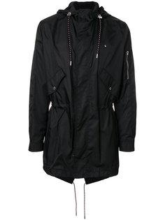 drawstring hooded parka Dior Homme