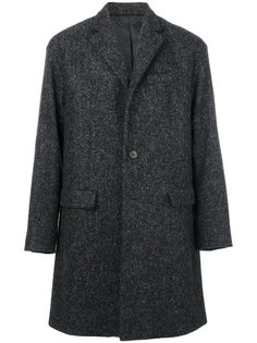 однобортное пальто Pringle Of Scotland