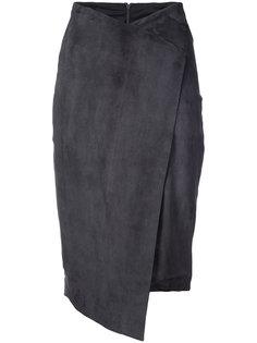 юбка с высокой талией Oscar de la Renta