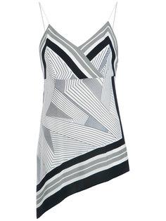 printed silk blouse Giuliana Romanno