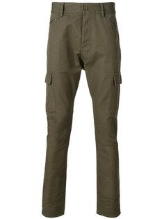 джинсы скинни с заниженной проймой Unconditional