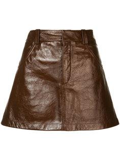 лакированная юбка Pelmet Chloé