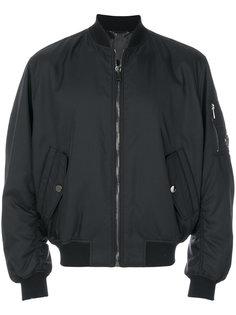 куртка бомбер на молнии Versace