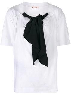 блузка с бантом Marni
